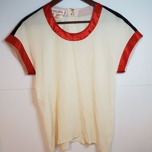 Escada silk top made in Germany size 34